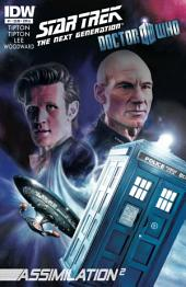 Star Trek TNG/Doctor Who: Assimilation #1