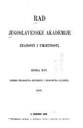 Rad Jugoslavenske akademije znanosti i umjetnosti: Volumes 94-96
