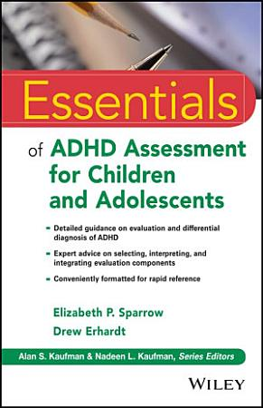 Essentials of ADHD Assessment for Children and Adolescents PDF