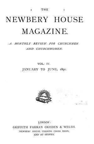 The Newbery House Magazine