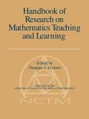 Handbook of Research on Mathematics Teac