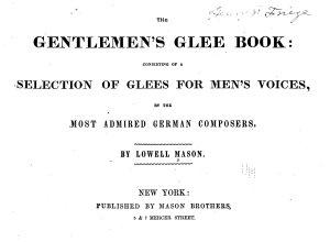 The gentleman s glee book PDF