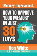Memory Improvement Book