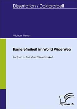 Barrierefreiheit im World Wide Web PDF
