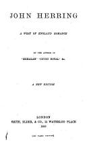 John Herring PDF