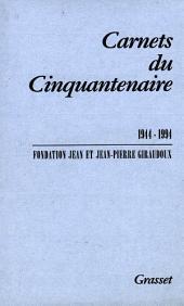 Carnets du cinquantenaire 1944-1994