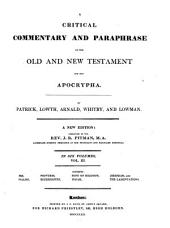A Critical Commentary and Paraphrase on the Old and New Testament and the Apocrypha: Volume 3