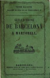 Guía de Barcelona a Martorell, por el ferro-carril: su autor Víctor Balaguer i Cirera