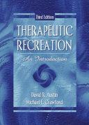 Therapeutic Recreation PDF