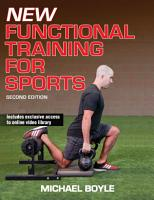 New Functional Training for Sports 2nd Edition PDF