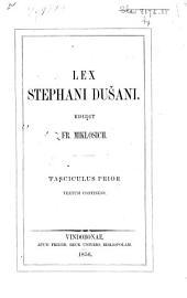 Lex Stephani Dušani