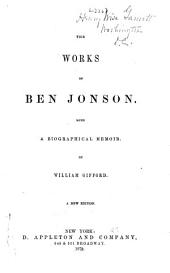 The Works of Ben Jonson: Volume 2