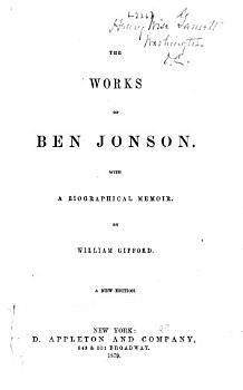 The Works of Ben Jonson PDF