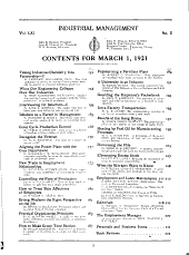 Factory and Industrial Management: Volume 61, Issue 5