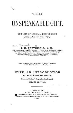 The Unspeakable Gift