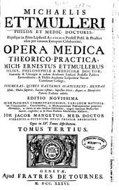 Michaelis Ettmulleri ... Opera medica theorico-practica