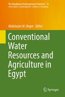 Conventional Water Resources and Agriculture in Egypt PDF