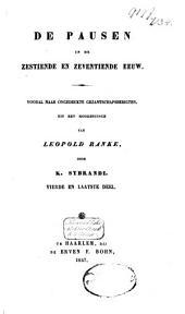 De Pausen in de zestiende en zeventiende eeuw: Deel 4