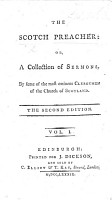 The Scotch Preacher  or  a collection of sermons by some of the most eminent Clergymen of the Church of Scotland PDF