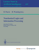 Nonclassical Logics and Information Processing