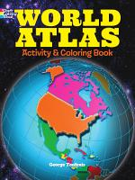 World Atlas Activity and Coloring Book PDF