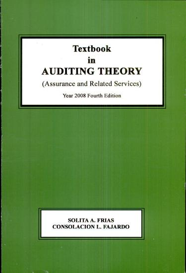 Textbook in Auditing Theory PDF