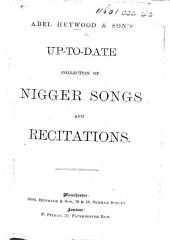 Heywood and Son's Up-to-date Collection of Nigger Songs and Recitations