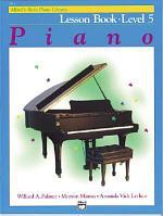 Piano Lesson Book