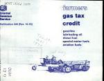 Farmer's Gas Tax Credit