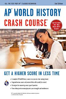 AP   World History Crash Course Book   Online Book
