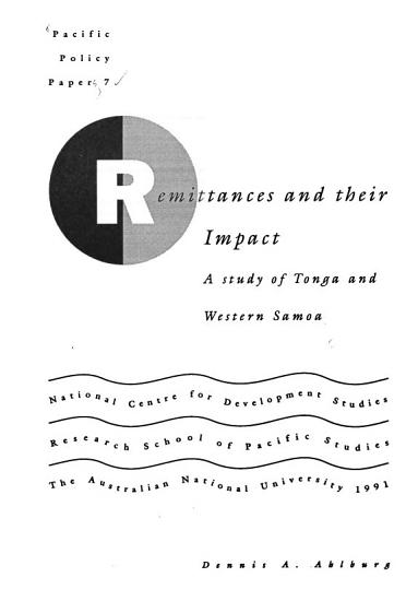 Remittances and Their Impact PDF