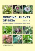 Medicinal Plants of India  Vol  3  PDF
