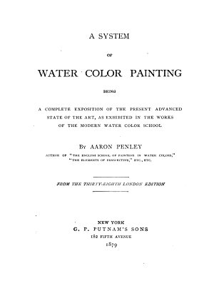 A System of Water Color Painting