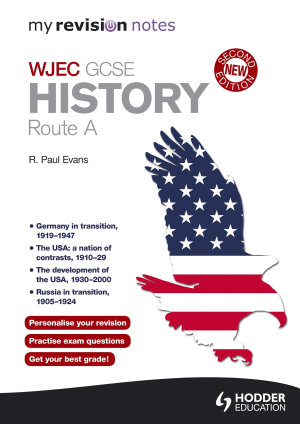 My Revision Notes  WJEC History Route A Second Edition PDF