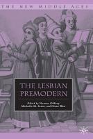 The Lesbian Premodern PDF