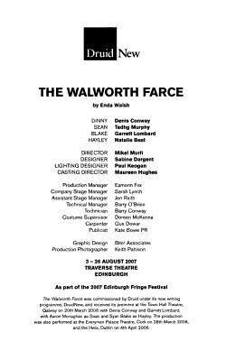 The Walworth Farce PDF