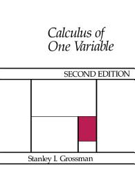 Calculus of One Variable PDF