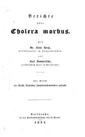 Berichte über Cholera morbus