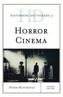 Historical Dictionary of Horror Cinema PDF