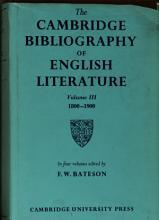 The Cambridge bibliography of English literature  1  600   1660 PDF