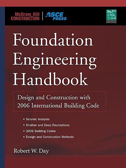 Foundation Engineering Handbook PDF