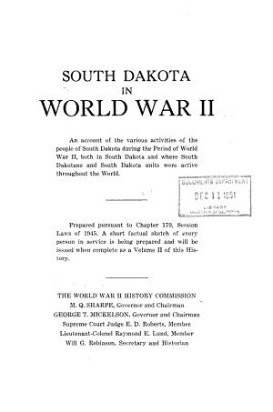South Dakota in World War II