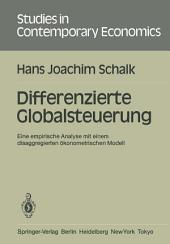Differenzierte Globalsteuerung: Eine empirische Analyse mit einem disaggregierten ökonometrischen Modell