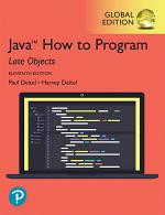 Java How To Program, Late Objects, eBook, Global Edition