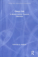Queer Ink  A Blotted History Towards Liberation PDF