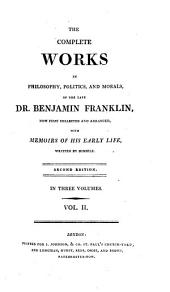 The complete works ... of ... Benjamin Franklin