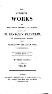 The complete works ... of ... Benjamin Franklin