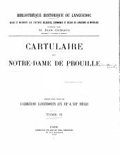 Cartulaire de Notre-Dame de Prouille: Volume2