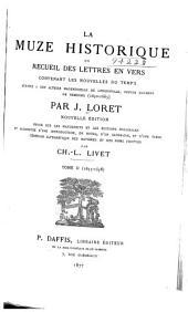 La muze historique; ou, Recueil des lettres en vers contenant les nouvelles du temps: 1655-1658
