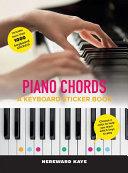 Piano Chords  A Keyboard Sticker Book
